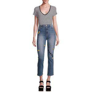 PAIGE Women's Blue Denim Jeans Size 24